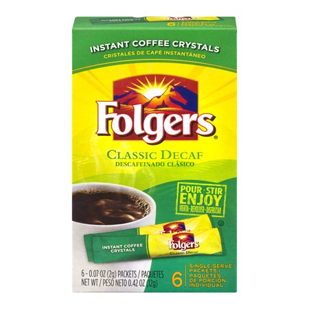 Instant coffee packets