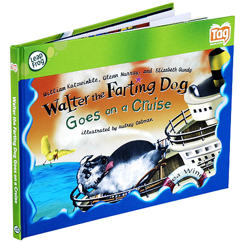 LeapFrog Tag Kid Classic Storybook: Walter the Farting Dog Goes on a Cruise