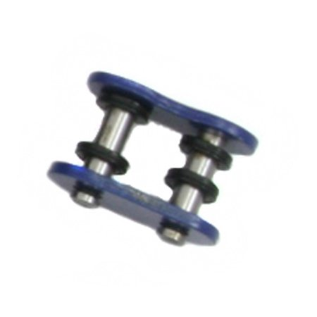 O-ring Chain Rivet Link (Factory Spec, FS-520-OB-RML, O-Ring Chain Master Link Rivet Style Blue 520 Pitch)