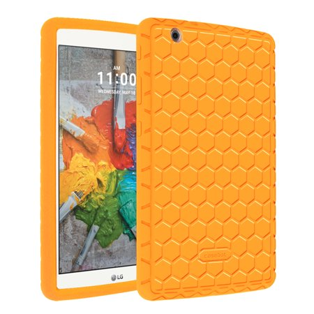 (Fintie LG G Pad X 8.0 / G Pad III 8.0 Case - [Anti Slip] Shock Proof Silicone Protective Cover [Kids Friendly])