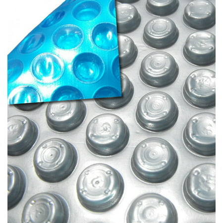 20' Ft. x 40' Ft. Rectangle Space Age Swimming Pool Solar Cover w/6-pack Grommets - 12 Mil ()