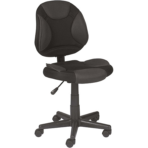 Grey and Black Task Chair