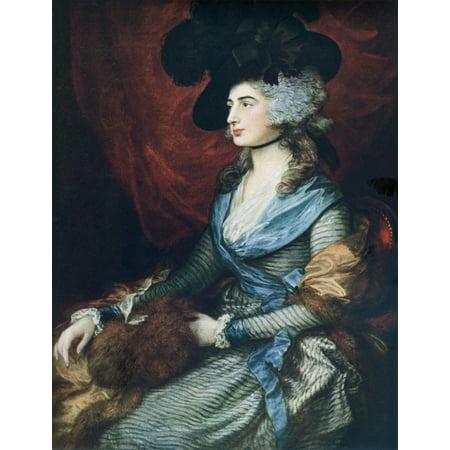 Mrs Siddons British Actress Sarah Siddons 1755 Canvas Art - Ken Welsh  Design Pics (24 x (Best Indian Actress Pics)