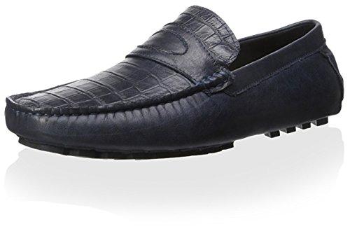 Zanzara Men's Monet Driving Loafer, Blue, 11.5 M US