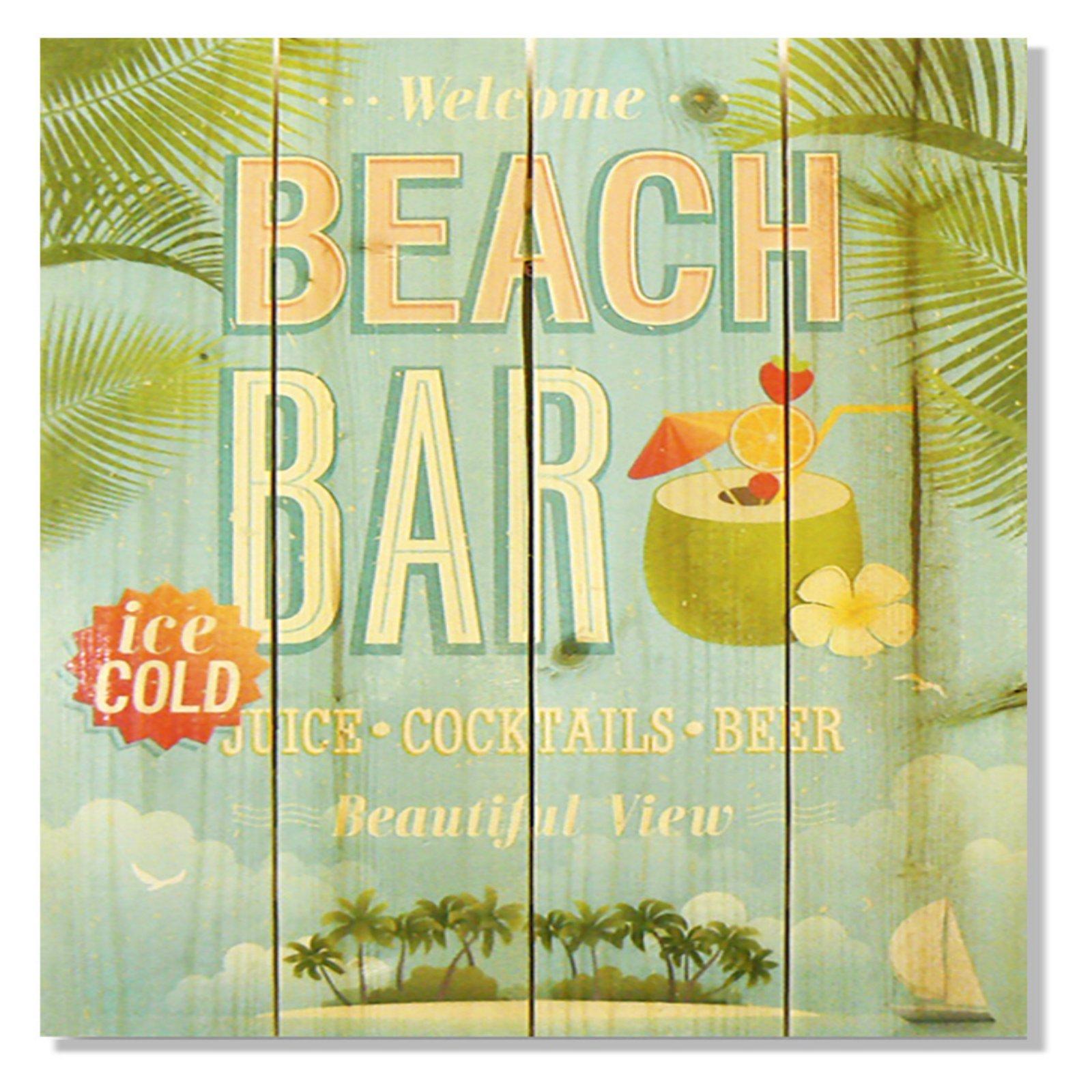 Gizaun Art Beach Bar Indoor/Outdoor Wall Art