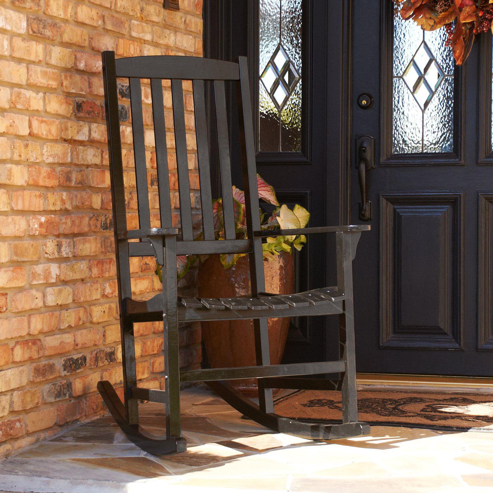 Southern Enterprises Porch Rocker - Black