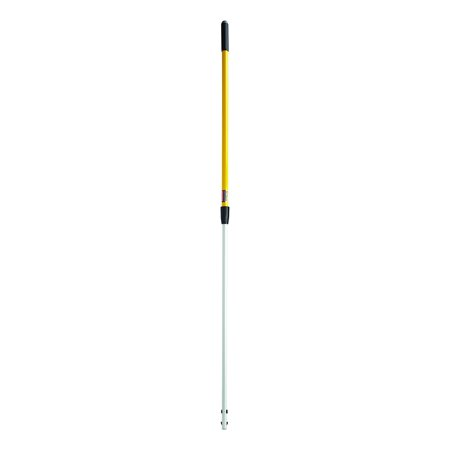 Rubbermaid Commercial Quick-Connect Straight Extension Handle, Yellow (FGQ75500YL00) Standard 4ft -