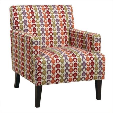 Avenue Six Carrington Arm Chair In Flair Confetti