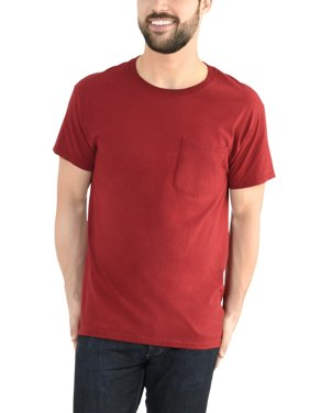 be6f2ba90ee78c Red Fruit of the Loom Mens Big   Tall T-Shirts - Walmart.com