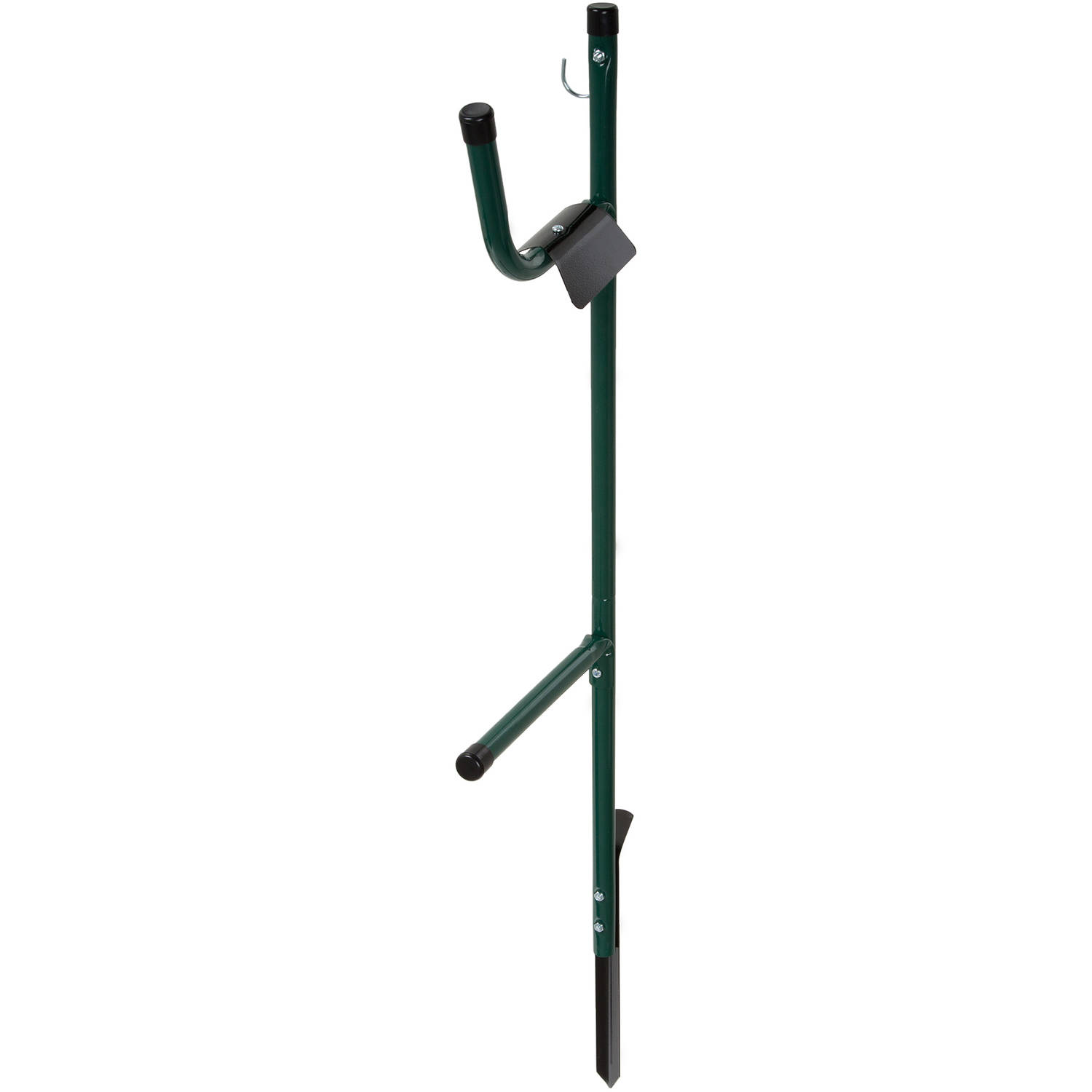 Garden Hose Holder Caddy- Easy Install Outdoor Free Standing Metal Rack for Hose... by Trademark Global LLC