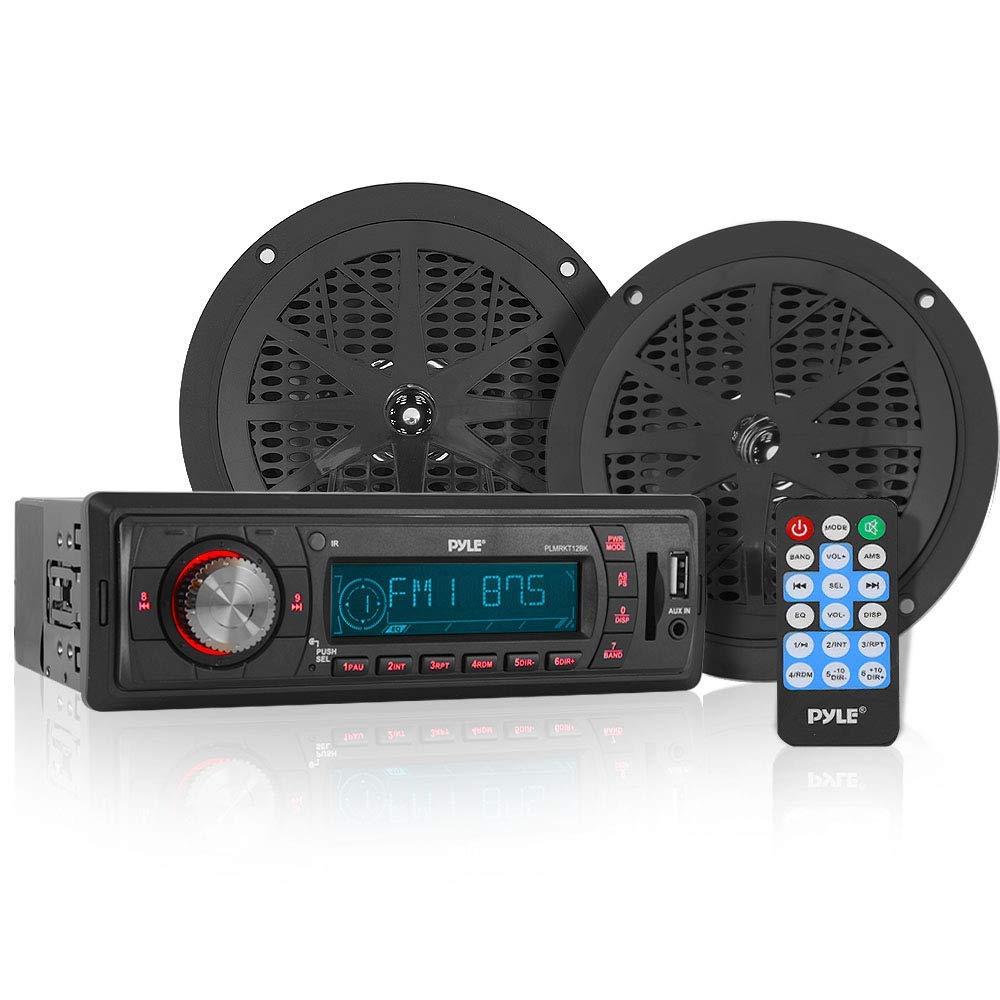Pyle In-Dash marine AM/FM PLL Tuning Radio w/ USB/SD/MMC Reader