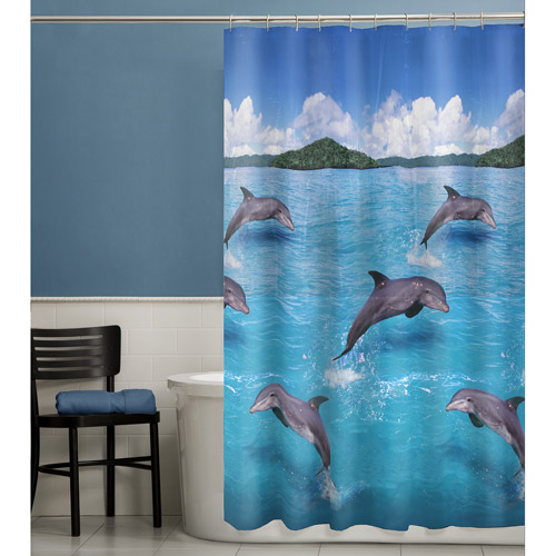 Maytex Splash PEVA Vinyl Shower Curtain