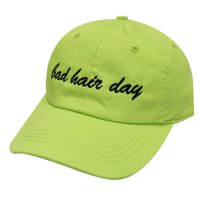 Product Image City Hunter C104 Bad Hair Day Cotton Baseball Caps 25 Colors  (Lime) 44b9f91df21f