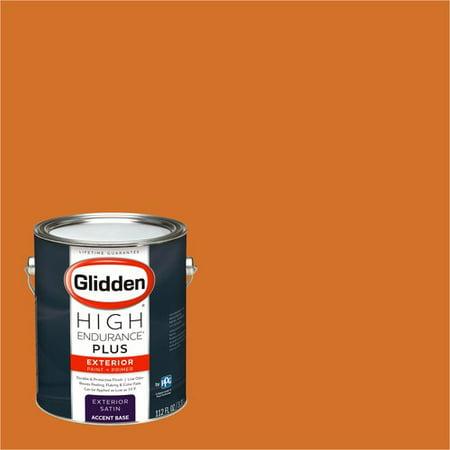 Paint A Pumpkin Kit (Glidden High Endurance Plus Exterior Paint and Primer, Pumpkin Patch , #70YR)