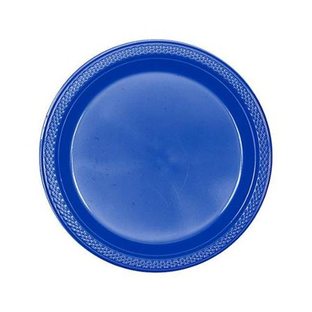 Blue Plastic 9