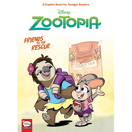 Disney Zootopia: Friends to the Rescue (Younger Readers Graphic Novel) (The Dark Side Of Disney Leonard Kinsey)