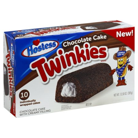 Hostess Twinkies Chocolate Cake 13.58 oz Box (10 count)