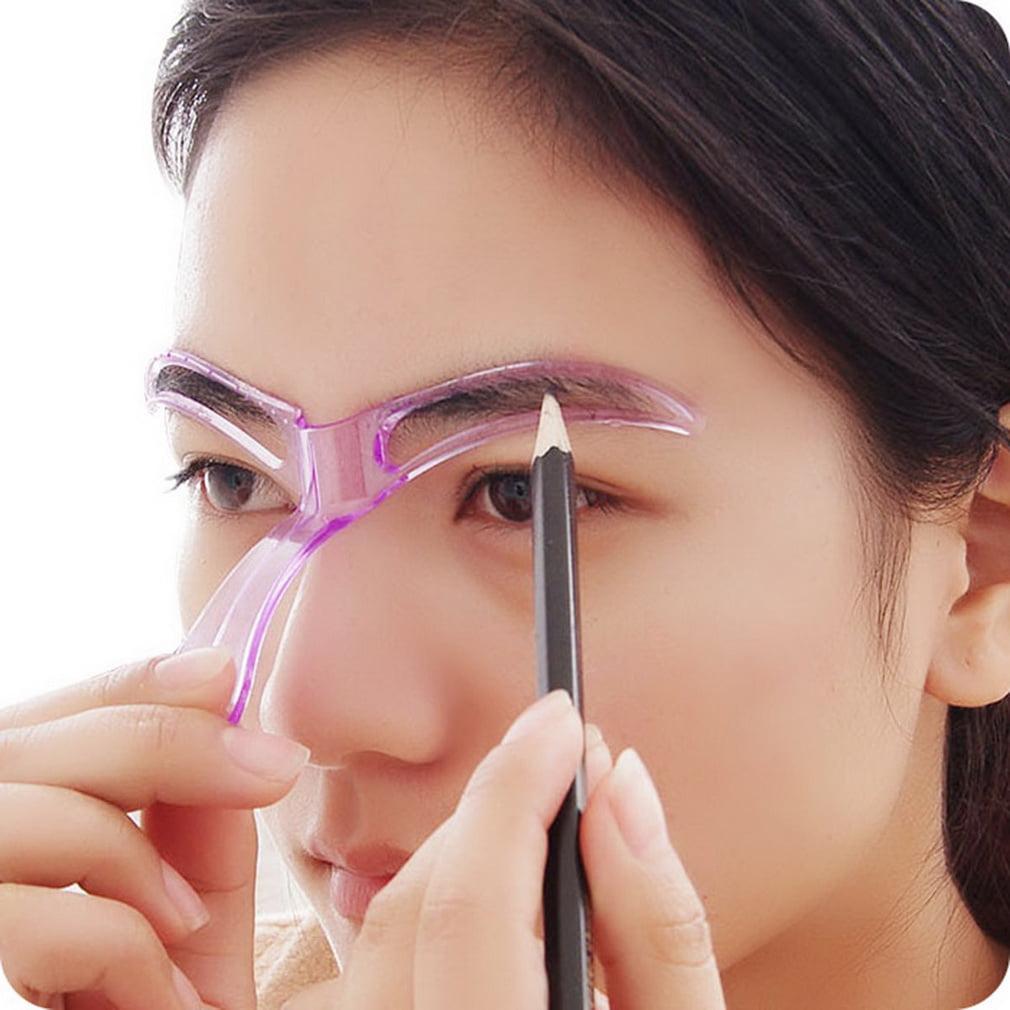 Eyebrow Template Stencil Grooming Shaping Helper Diy Tool Beauty