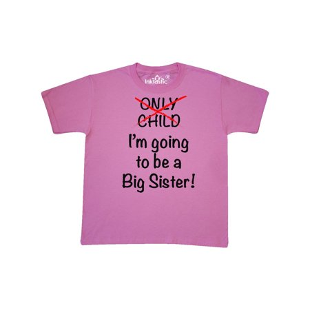 I'm going to be a Big Sister! Youth T-Shirt (Columbia Big Girls)