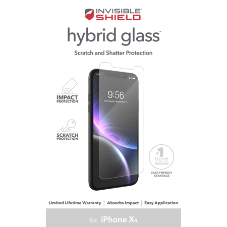 ZAGG InvisibleShield Hybrid Screen Protection for iPhone XR