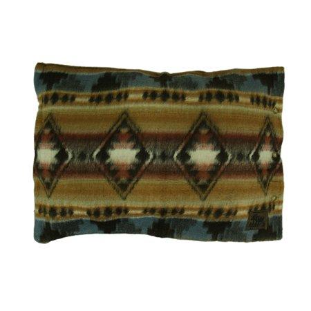 Cabin Fever Grecas Southwestern Acrylic Fleece Pillow Sham 29 X 20 - Fleece Tie Pillow