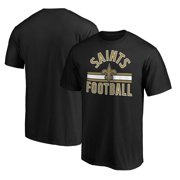 New Orleans Saints Fanatics Branded Standard Arc T-Shirt - Black
