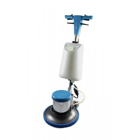Floor Machine Brushes - Industrial Floor Polisher Machine with (1 Tank + 2 Brushes + 1 Pad Holder) ,1.5 HP BF522
