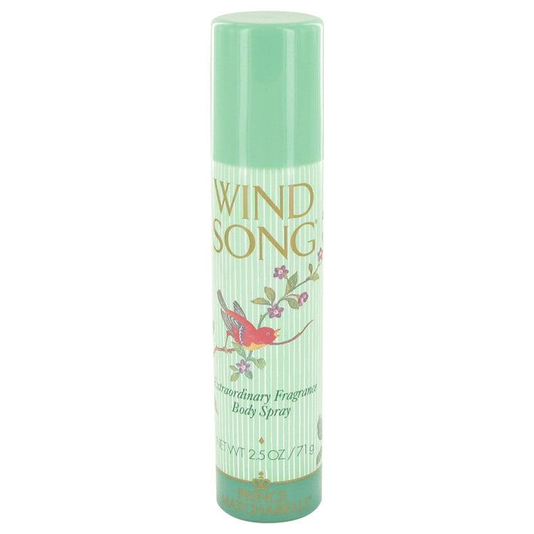 Prince Matchabelli WIND SONG Deodorant Spray for Women 2.5 oz