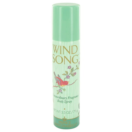 (2 Pack) Prince Matchabelli WIND SONG Deodorant Spray for Women 2.5