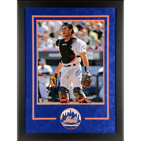 Mike Piazza New York Mets Fanatics Authentic Deluxe Framed Autographed 16