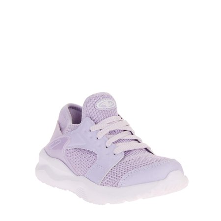 Athletic Works Girls' Caged Mesh Athletic Shoe