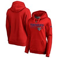 Florida Panthers Fanatics Branded Women's Authentic Pro Rinkside Prime Pullover Hoodie - Red