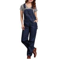 Women's Denim Bib Overall Jeans
