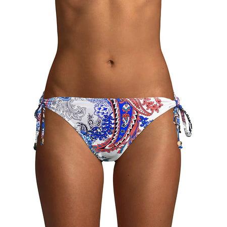 Paisley Leaves Reversible Loop String Bikini - Reef Reversible Bikini