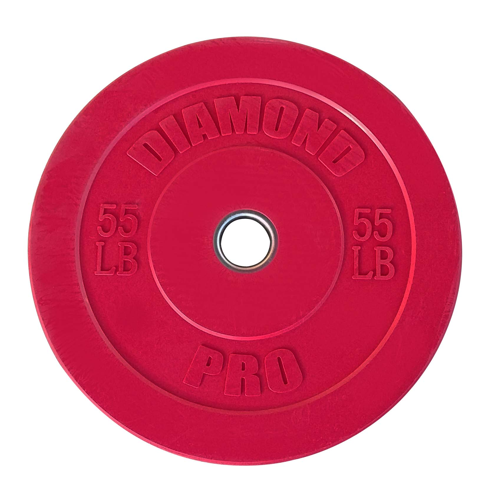 Diamond Pro 55 lb Color Bumper Plate Single
