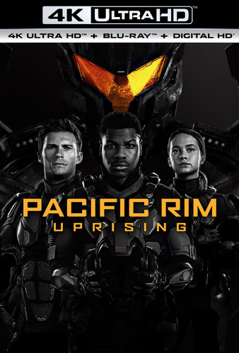 Pacific Rim Uprising (4K Ultra HD + Blu-ray + Digital HD) by