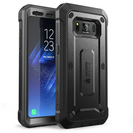 Galaxy S8 Active Case, Unicorn Beetle PRO, SUPCASE, Rugged Holster Case with Screen Protector -