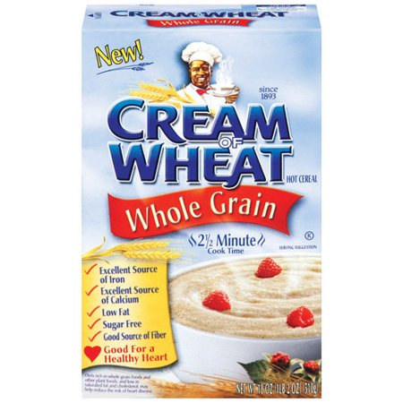 Cream Of Wheat Whole Grain Hot Cereal, 18oz