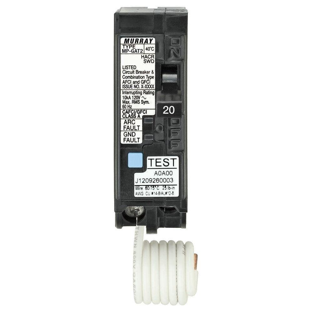 Siemens 20 Amp AFCI/GFCI Dual Function Circuit Breaker