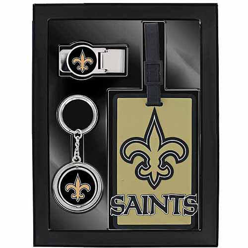 Aminco Sports 3-Piece Travel Fan Pack, Saints