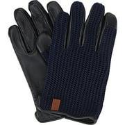 Men's Ben Sherman Knit/Leather Driving Glove