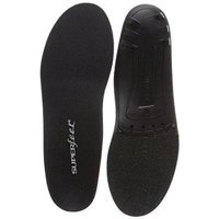 Superfeet black, thin Insoles for orthotic support in tight shoes, dress and athletic footwear, unisex, black, large/e: 10.5-12 wmns/9.5-11 Men's