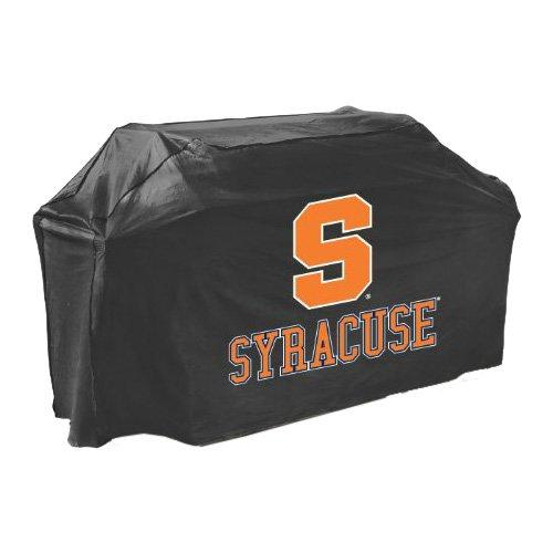 Collegiate Syracuse Grill Cover - Supports Barbecue Grill - Mold Resistant, Mildew Resistant, Temperature Resistant, Water Resistant, Pvc-free - Polyester - Black (07733syrgd)