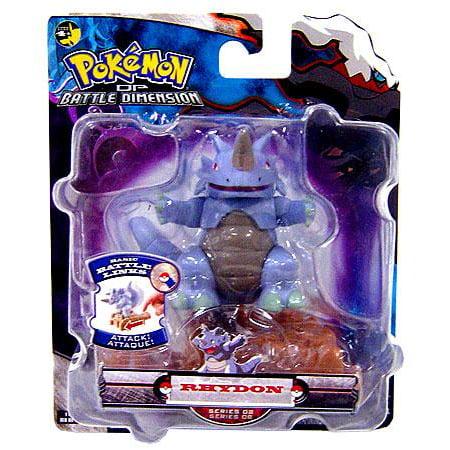 Pokemon Diamond & Pearl Battle Dimension Series 8 Rhydon Action Figure