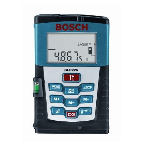 Factory-Reconditioned Bosch GLR225-RT 225 ft. Laser Distance Measurer (Refurbished)