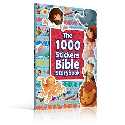 Time Bible Storybook (The 1000 Stickers Bible Storybook)