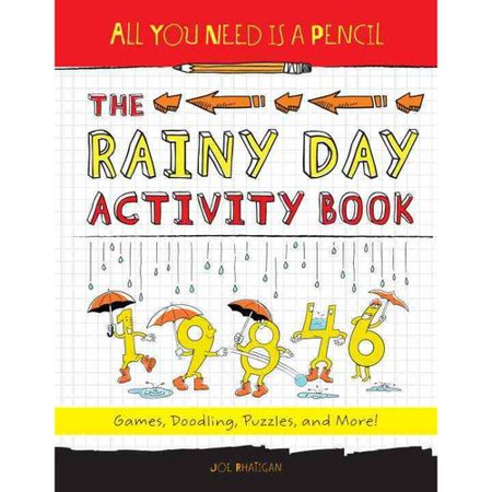 The Rainy Day Activity Book: Games, Doodling, Puzzles, and More!