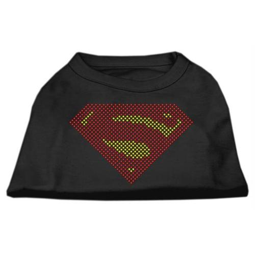 Super! Rhinestone Shirts Black XXL (18)