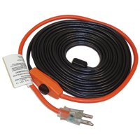 Frost King HC18A Automatic Electric Heat Cable Kits, 18ft x 120V x 7 Watts/ft