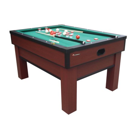 Atomic Classic Bumper Pool Table with Internal Ball Return System and Warp-Resistant MDF PlayField